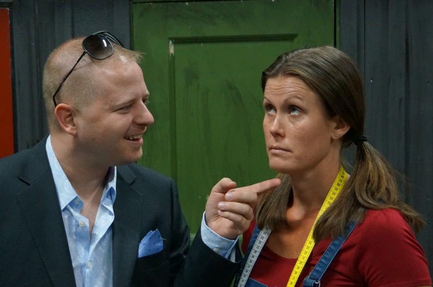 Cristian Ehrman och Annika Skoglund
