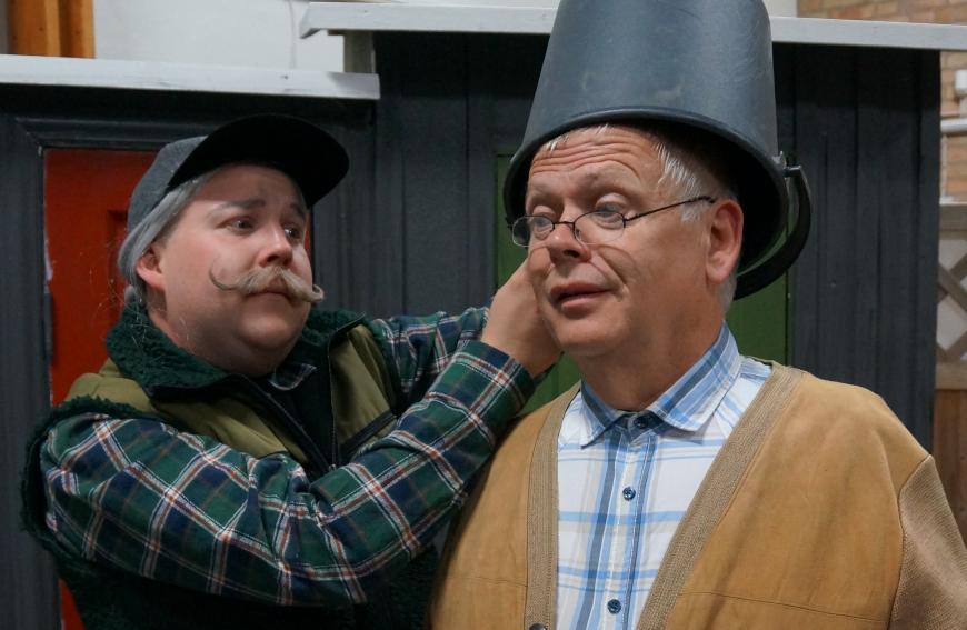 Tobias Herbertzon och Kjell-Åke Rinnarv